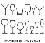 set of empty different shapes... | Shutterstock . vector #548633695