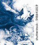 blue creative abstract hand... | Shutterstock . vector #548641819