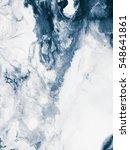 blue creative abstract hand... | Shutterstock . vector #548641861