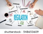 regulation. the meeting at the... | Shutterstock . vector #548653609