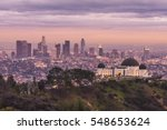 Griffith Observatory And Los...