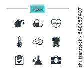 medicine  healthcare and... | Shutterstock . vector #548657407
