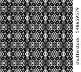 ornamental seamless line... | Shutterstock . vector #548659579