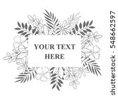 your text here banner with... | Shutterstock .eps vector #548662597