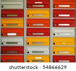 Brightly Colored Letterboxes