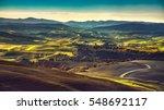 Volterra Winter Panorama ...