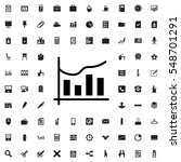 chart icon illustration... | Shutterstock .eps vector #548701291
