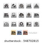 web developer icons   the... | Shutterstock .eps vector #548702815
