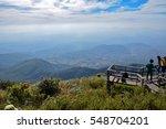 wooden walkway at scenic... | Shutterstock . vector #548704201