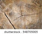 Closeup Of Warm Flat Wood...