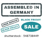 assembled in germany rubber... | Shutterstock .eps vector #548738449