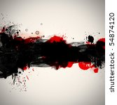 grunge  bloody background | Shutterstock . vector #54874120