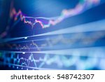 stock exchange board  | Shutterstock . vector #548742307