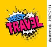 vector comic bubble icon speech ... | Shutterstock .eps vector #548747491