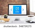 internet communication social...   Shutterstock . vector #548759275