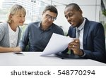 business communication... | Shutterstock . vector #548770294