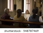 church people believe faith... | Shutterstock . vector #548787469