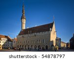 Town Hall Square In Tallinn ...