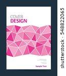 book cover design vector...   Shutterstock .eps vector #548822065