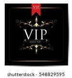 vip card design | Shutterstock .eps vector #548829595