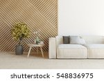 white room with sofa and... | Shutterstock . vector #548836975
