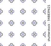 hand drawn ornament pattern.... | Shutterstock .eps vector #548839621