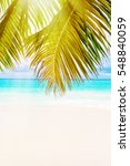 tropical island. the seychelles.... | Shutterstock . vector #548840059