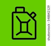 gasoline icon flat disign