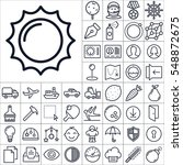 set of universal icons.... | Shutterstock .eps vector #548872675