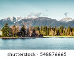 photo of vancouver mountains... | Shutterstock . vector #548876665