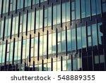 modern building. modern office... | Shutterstock . vector #548889355