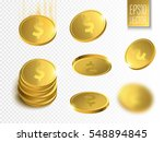 vector illustration of golden... | Shutterstock .eps vector #548894845