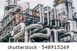 industrial zone the equipment... | Shutterstock . vector #548915269