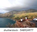 top view of chapman's peak road ... | Shutterstock . vector #548924977