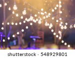hanging decorative lights for a ... | Shutterstock . vector #548929801