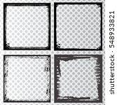 vector frames. rectangles for...   Shutterstock .eps vector #548933821