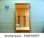 the infrared sauna to improve... | Shutterstock . vector #548934097