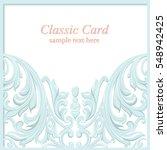 Vintage Baroque Lace Invitatio...
