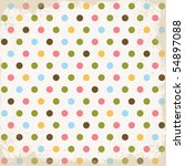 Stock photo summer dots background 54897088