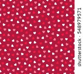 valentine seamless pattern with ...   Shutterstock .eps vector #548979571