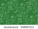 vintage education background.... | Shutterstock .eps vector #548987311