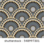 seamless tile with circular...