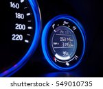 close up of car display...   Shutterstock . vector #549010735