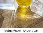 backlight though glass objects... | Shutterstock . vector #549012931