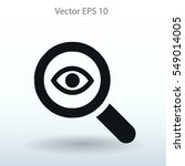 eye vector illustration | Shutterstock .eps vector #549014005
