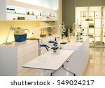 modern biological lab with... | Shutterstock . vector #549024217