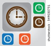 stopwatch timer flat icon....   Shutterstock .eps vector #549030751