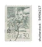Sweden   Circa 1960  A Stamp...
