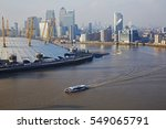 aerial view of millennium dome  ... | Shutterstock . vector #549065791