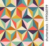 seamless geometric retro pattern   Shutterstock .eps vector #549068599